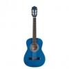 Stagg – Guitare acoustique – Guitare classique 1/2 tilleul/bleu