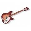 Guitare demi-caisse Rickenbacker 330 Rouge Dégradé (+ étui)