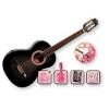 GYPSY ROSE – GRC1K/N – pack guitare classique noire