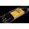 Yellow Cable – Cables jack jack Jack/Jack 3m Diam 0,6 – G63D