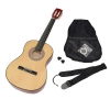 ts-ideen Guitare de concert 3/4 classique acoustique pour enfant de 8 à 12 ans avec étui, cordes, médiators et sangle
