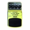 Behringer ULTRA BASS CHORUS / BUC400 Pédale d'effet chorus pour basse (Import Royaume Uni)