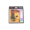 Alice mettre cordes pour guitare classique (G-3 gainés), concert cordes AC136BK-H, la tension dure (de 0,0285 à 0.044), nylon noir, avec âme en nylon, un carter en alliage de cuivre et revêtement anti-rouille, Mod AC136BK-H