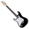 Rocktile Pro ST3-BK-L Guitare électrique pour gaucher (Noir)