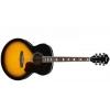 Ibanez SGT230E-VS Gamme Sage Guitare folk 6 cordes Jumbo avec accordeur, sacoche et sangle (Motif Sunburst vieilli)