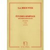 Études simples (estudios sencillos) pour Guitare – 2e série (N°6 à 10)