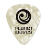 Planet Waves 1CWP2-10 Lot de médiators Celluloïd Blanc nacré Light / 0,50mm 10 pièces (Import Royaume Uni)