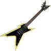 Dean – Razorback – Guitare électrique 7 cordes avec étui rigide – Noir classique