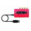 Behringer UCA222 Interface audio USB rouge