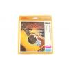 Alice mettre cordes pour guitare acoustique professionnels, forts de 0.012 à 0.053 E E, cordes en acier hexacore avec tresse en alliage de cuivre, Mod AW432-L