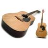 Guitare Acoustique: Ply Haut Acoustique Cordes Acier Dreadnought