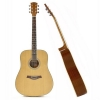 Guitare acoustique de Dreadnought naturelles