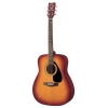 Yamaha F310PTBS Guitare folk acoustique avec sacoche, sangle, diapason, cordes, 3 médiators, manivelle et capo (Sunburnt) (Import Allemagne)