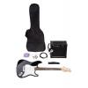 Classic Cantabile Rock Pack Set guitare électrique 11 pièces (Import Allemagne)
