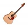 Classic Cantabile WS-2 Guitare folk (Bois naturel)