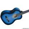 Jago – Guitare classique modèle 4/4 Bleu