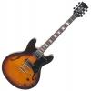 Rocktile Pro HB100-SB Guitare électrique (Sunburst)