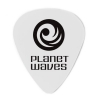 Planet Waves – 1CWH2-10 – Lot de médiators – Celluloïd – Blanc – Light / 0,50mm – 10 pièces (Import Royaume Uni)