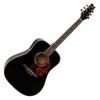 Classic Cantabile WS-2 Guitare folk (Noir) (Import Allemagne)