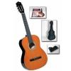 Pack Guitare Classique 4/4 , avec housse, méthode/CD karaoke et accordeur numérique