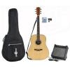 Guitare électro acoustique Dreadnought + Pack Ampli 15W