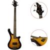 Tiger Guitare Basse électrique BGT2 (Sunburst)