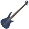 Guitare électrique de basse de CDP-105 5 par Gear4music bleu