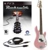 Rocksmith (PS3) 3/4 G-4 électrique guitare basse en rose