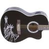 Guitare électro-acoustique «LIBERTY» (Statue de la liberté) ~ Neuve
