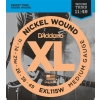D'Addario EXL115W XL Nickel Wound Jeu de cordes pour guitare électrique Tirant Blues/Jazz Rock (.011-.049) (Import Royaume Uni)