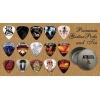 Metallica – Boite Rangement pour Médiator + Pack de 15 Médiators Premium (G)