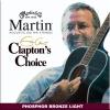 Martin & Co – Cordes pour les guitares folk, acoustiques et électro acoustiques JEU CLAPTON LIGHT 12-16-25-32-42-54 _ EC12