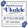 D'Addario J92 Pro-Arte Jeu de cordes pour ukulélé concert (Import Royaume Uni)