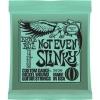 Ernie Ball – Jeux de cordes pour guitares électriques Jeu corde electrique – Not even Slinky – 12/56 – 2626