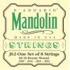 D'Addario J62 80/20 Bronze Jeu de cordes pour mandoline Tirant Light (.010-.034) (Import Royaume Uni)