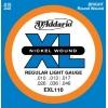 D'Addario – Jeux de cordes pour guitares électriques EXL110 10-46
