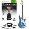 Rocksmith (Xbox 360) 3/4 G-4 électrique guitare basse en bleu