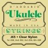 D'Addario – Cordes autres instruments j65 cordes de ukulele