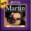 Martin M175 Jeu de cordes pour guitare acoustique Tirant custom light