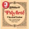 D'Addario EJ45-3D Pro-Arte Normal Jeu de cordes pour guitare classique Tirant normal (.028-.043) Pack de 3 (Import Royaume Uni)