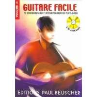 Partition : Guitare facile vol.1 + CD
