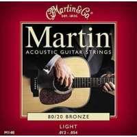 Martin & Co – Cordes pour les guitares folk, acoustiques et électro acoustiques CMA 140 – Jeu Bronze 12-54