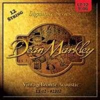 Dean Markley 2206 Jeu de 12 cordes pour guitare acoustique (Import Royaume Uni)