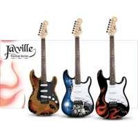 Jaxville Reaper Guitare électrique forme ST
