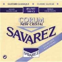 Savarez – Cordes guitare classique – Cristal corum bleu t/fort csa 500cj