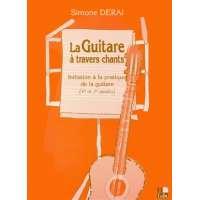 La guitare à travers chants – Initiation à la pratique de la guitare (1ère et 2è années)