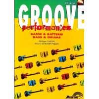 Groove Performances Basse – Batterie + CD