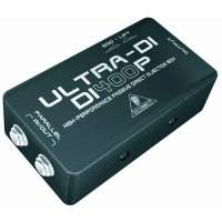 Behringer – Ultra-DI / DI400P – Boîtier d'injection passif (Import Royaume Uni)