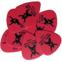 Rock Star Academy – Mediators Pour Guitares – Picks – 0.5mm Rose – Pack de 10