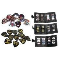 Pochette Médiator Avec 12 Médiators Rock Assorties